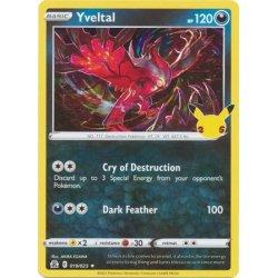 Yvetal - 019/025 - Rare Holo