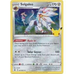 Solgaleo - 021/025 - Rare Holo