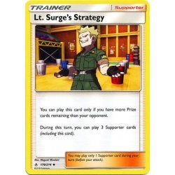 Lt. Surge's Strategy...