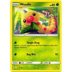 Weedle - 002/181 - Common