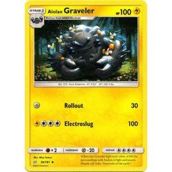 Alolan Graveler - 036/181 -...
