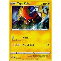 Tapu Koko - 061/189 - Rare