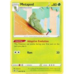 Metapod - 002/192 - Uncommon