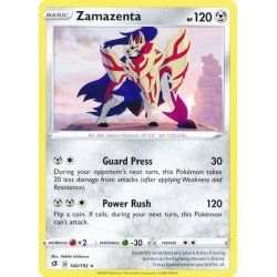 Zamazenta - 140/192 - Rare