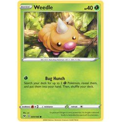 Weedle - 002/185 - Common